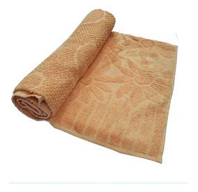 Toalha De Banho Luxo ? Cor Laranja 68cm X 1,36m