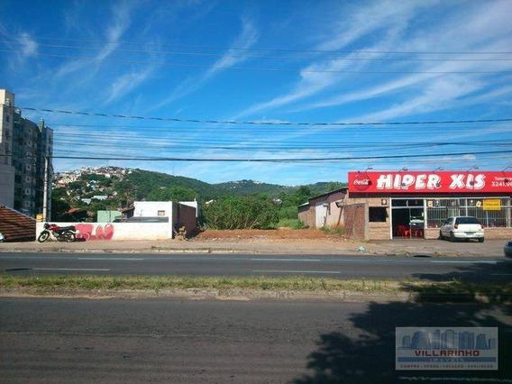 Terreno Residencial À Venda, Cavalhada, Porto Alegre - Te0033. - Te0033