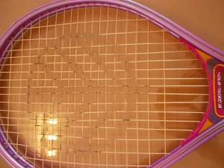 Raqueta De Tennis Rox Pro Color Rosa Encordado Original