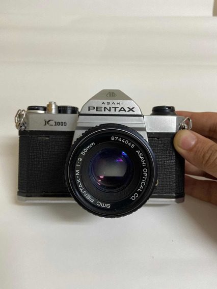 Pentax K1000 Japonesa - Revisada - Pronta Para Usar.