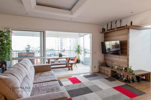 Magnifica Cobertura Com 3 Dormitórios À Venda, 208 M² - Alto Do Ipiranga - São Paulo/sp - Co0056