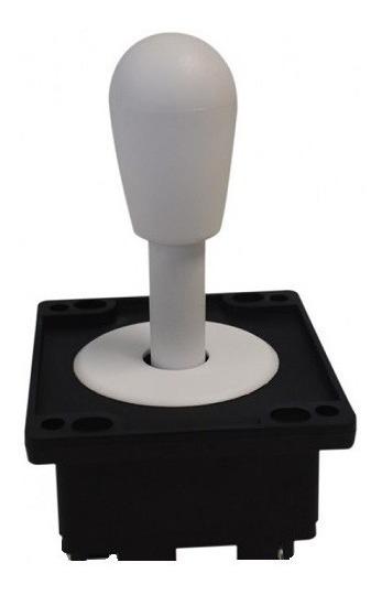 Comando Aegir Com Placa Magnética Aegir Para Arcade Branco