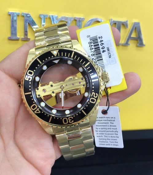 Relógio Invicta Dial Skeleton calibre: Jq-r005