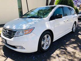 Honda Odyssey 3.5 Touring Minivan Piel Cd Qc Dvd At 2013
