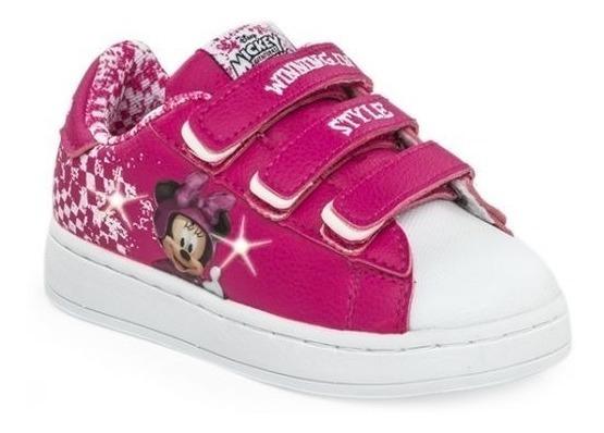 Zapatillas Disney Addnice Flow Minnie Race Luces Abrojo
