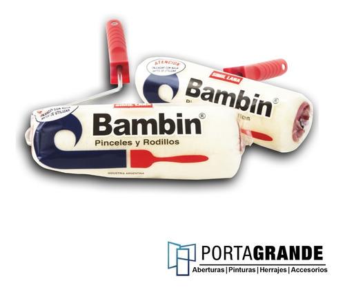 Imagen 1 de 1 de Rodillo Para Pintar De Lana Bambim 17cm
