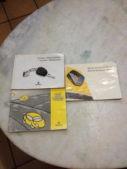 Renault- Manuais Garantia /manutenção.servicos E Segurança