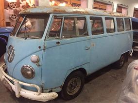 Kombi 1966 Para Restauro Ótima Estrutura Motor Ok - Perua