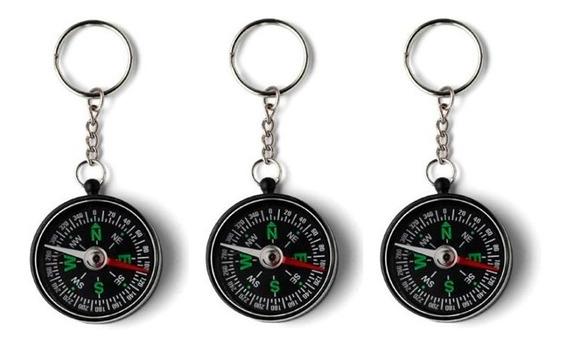 Brújulas X12 Llaveros Compass Para Souvenir Scouts Campamento