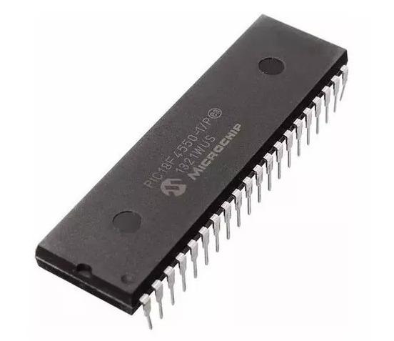 7x Microcontrolador Pic 18f4550 Pic18f4550 Microchip Dip40