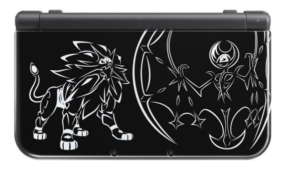 Nintendo New 3DS XL Solgaleo and Lunala Limited Edition negro
