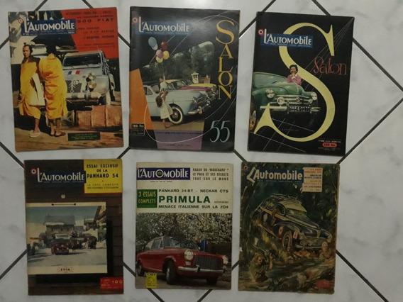 Revistas L Automobile Renault 54 Alpine 58 La 203 Peugeot 51