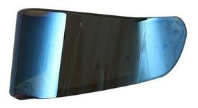 Viseira Original Do Capacete Ls2 Vector Ff397 Iridium Azul