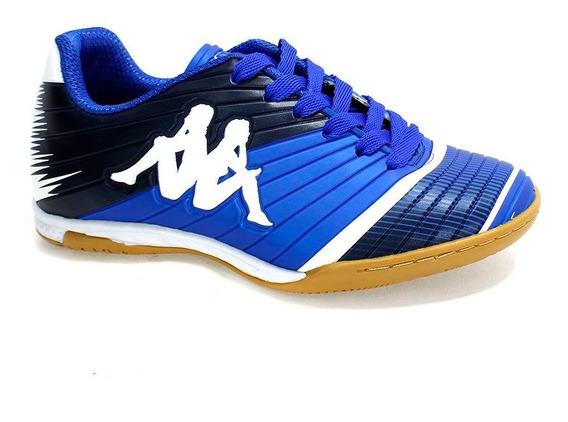 Tênis Indoor Kappa Striker Ii Menino Marinho 31133ww