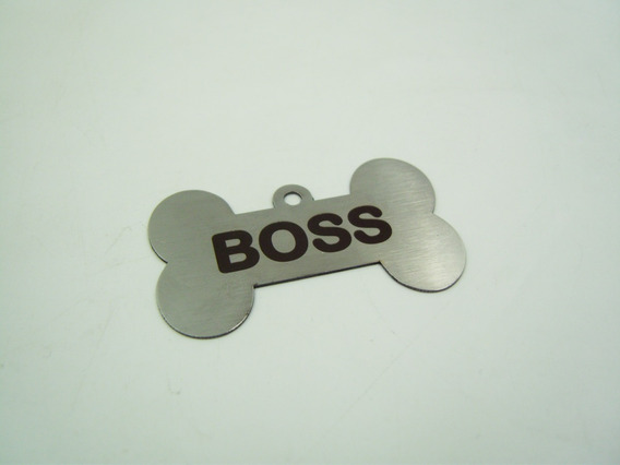 Placa Perro Id Mascota Personalizado Gratis Con Láser