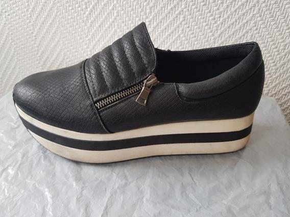 Zapatos Panchas Plataforma