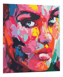 Juego De Pintura Acrílicas Cuadro Diy Lienzo Pintar