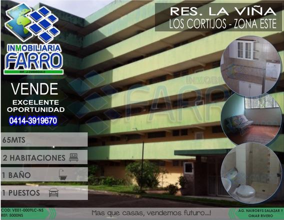 Venta Apto Res La Viña, Sector Los Cortijos Ve01-0009lc-ns