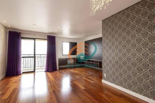 Imagem 1 de 8 de Apartamento Com 2 Dormitórios À Venda, 79 M² Por R$ 680.000,00 - Vila Regente Feijó - São Paulo/sp - Ap1564