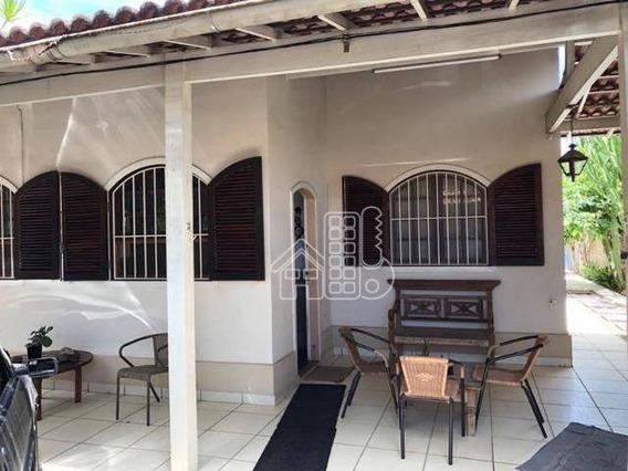 Casa Com 4 Dormitórios À Venda, 250 M² Por R$ 600.000 - Piratininga - Niterói/rj - Ca1156