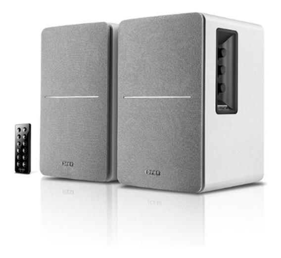 Caixas De Som Muito Potente Com Bluetooth R1280db - Branca