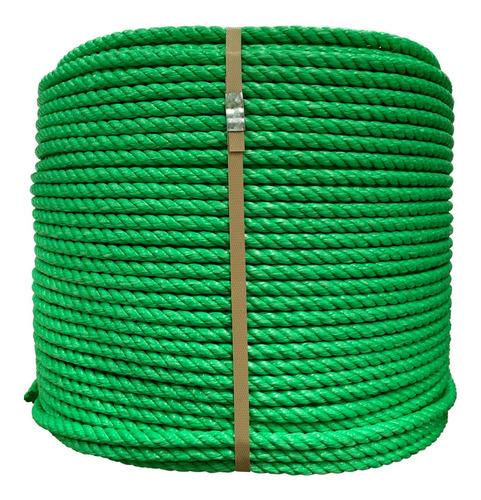 Cuerda Rafia Standard De 12 Mm Color Verde (rollo De 25 Kg)