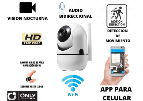 Camara Ip Wifi Only Robotizada Con Autotracking