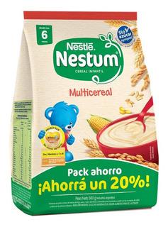 Cereal Infantil Nestum Multicereal Sin Azucar Agregada X500g