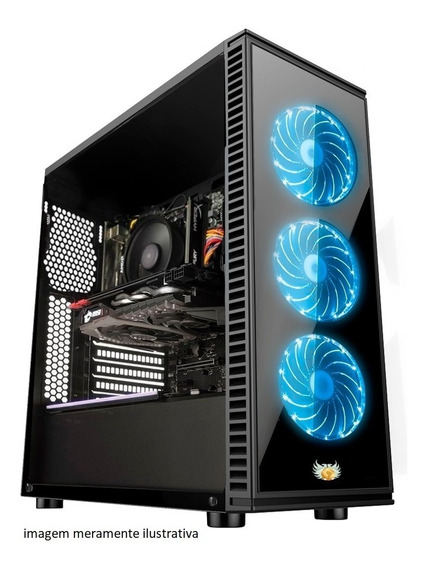 Cpu Gamer /core I5/ 8gb/ 1tb/ Gtx1050 4gb Ti/ Wifi/ Led Gab.