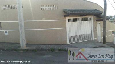 Casa Para Venda Em Mogi Das Cruzes, Parque Olimpico, 2 Dormitórios, 1 Suíte, 2 Banheiros, 2 Vagas - 3102