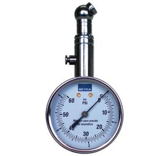 Medidor De Presion Aire Manometro Control Neumaticos