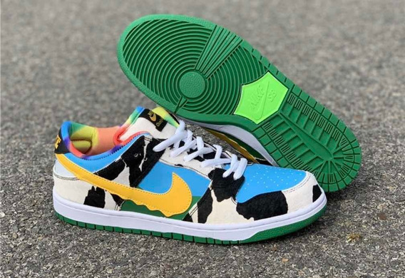 Tênis Nike Sb Dunk Low Ben & Jerry