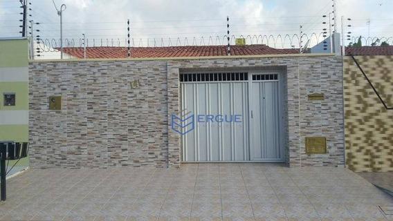 Casa Com 2 Dormitórios À Venda, 170 M² Por R$ 270.000,00 - Lagoa Redonda - Fortaleza/ce - Ca0641