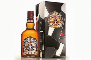 Whisky Chivas Regal 12 Años Gentleman 750 Ml