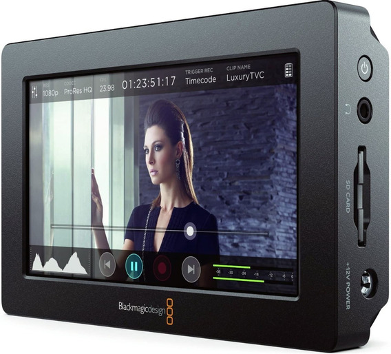 Blackmagic Designer 4k Hdmi/6g-sdi Record Monitor 5