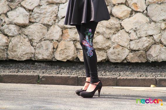Leggings Mallónes Para Mujer De Algodón Tr006