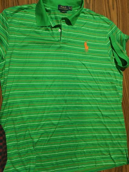 Polo Ralph Lauren Xl Original Verde (no Tommy, Boss, Armani)