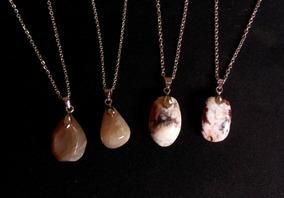 Colar Opalas 4 Colares Kit Pedras E Achados Xilopalas