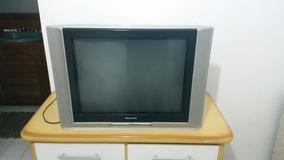 ff815b077 Tv Philips 20 Com Controle Remoto Original 110v Entrada Av. Usado ·  Televisao Tubo Panasonic 29 Polegadas Tela Plana Igual Nova