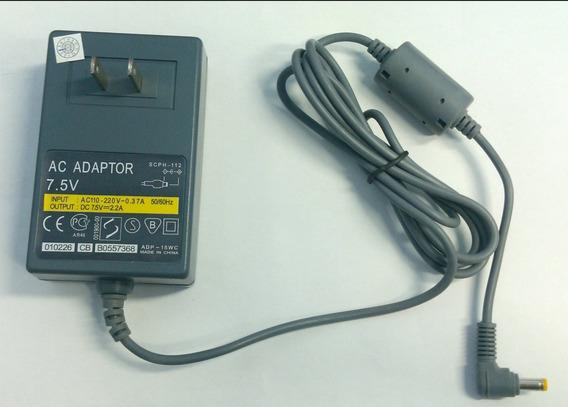 Fonte Playstation One 1 Auto Ac Adaptador 110/220 7.5v