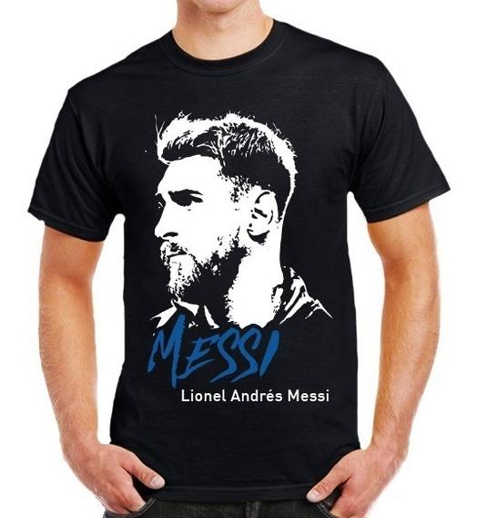 Increíbles Playeras De Lionel Messi 10 Dama Y Caballero