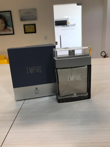 Novo Perfume Hinode New Empire 100 Ml Com Novo Design