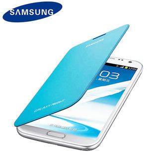 Capa Flip Cover Samsung Galaxy Note 2 Nfc Azul Original
