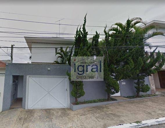 Sobrado Com 3 Dormitórios Para Alugar, 350 M² Por R$ 5.300/mês - Planalto Paulista - São Paulo/sp - So0198