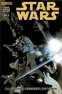 Star Wars 05: La Guerra Secreta De Yoda - Aaron, Larroca