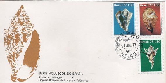 Fdc - 1977 Serie Moluscos - Selos #123