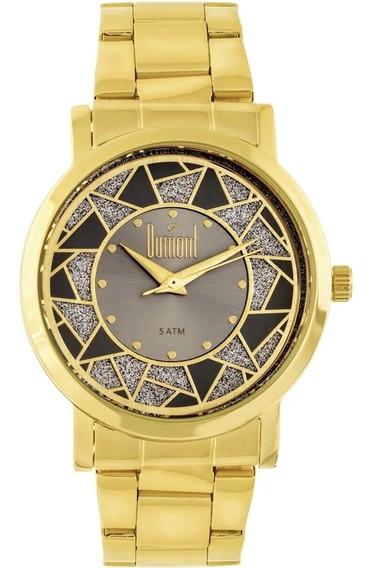 Relógio Feminino Dumont Du2036ltn/4c