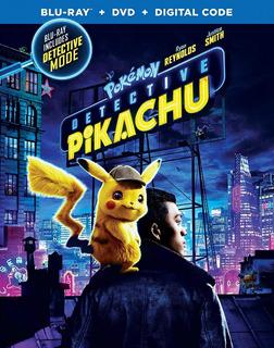Blu-ray + Dvd Pokemon / Detective Pikachu