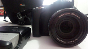 Canon Maquina Fotografica Sx40hs C Cartao De Memoria