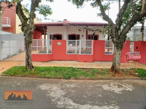 Casa Com 6 Dormitórios Para Alugar, 300 M² Por R$ 5.500/mês - Cidade Universitária - Campinas/sp - Ca1910